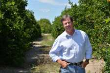 Bobby Barben of Barben Fruit Co. in his grove