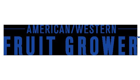 American/Western Fruit Grower (AFG) color logo - blue