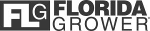 FLG - Florida Grower gray menu logo