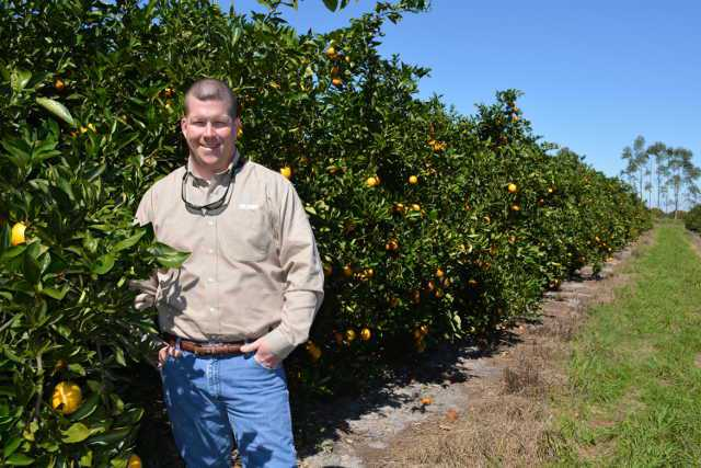 Rob Atchley of Duda Citrus