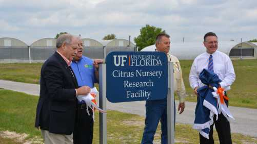 Virtual Tour: High-Tech Citrus Nursery Greenhouse Unveiled