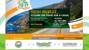 "Tour de Fresh Launches Campaign For United Fresh's ""Let's Move Salad Bars"""