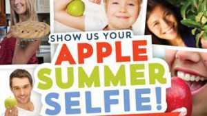 """U.S. Apple Association Launches """"Summer Selfie"""" Campaign"""