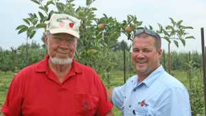 Evan and Nathan Milburn Named 2008 Apple Grower of the Year