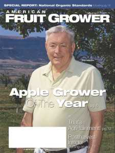 American Fruit Grower AGTY cover 2002 Fred Valentine