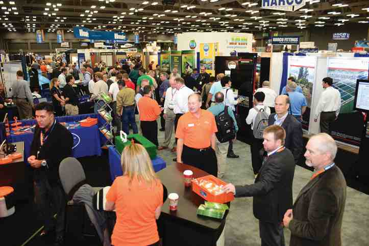 The Irrigation Show kicks off Monday, Nov. 17, with a variety of education classes, seminars, and technical sessions for agricultural irrigation. Photo credit: Irrigation Association