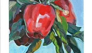 Fifth-Generation Orchardist Wins Jan Cook Mack Painting