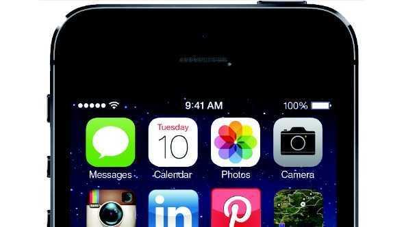 iphone close-up