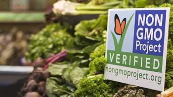 non-gmo label leafy greens