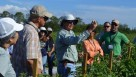 Wes Roan of Lipman Produce talks with participants of FFVA's Spring Regulatory Tour.