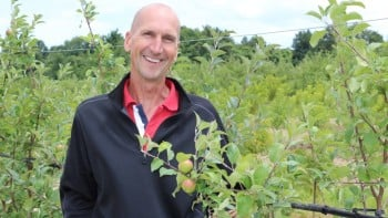 """The thing about networking is, no matter how smart you are, there's always someone smarter. You can't predict how it will work out, but the more people you know, the better chance you have of finding success."" - Bill Dodd, 2015 Apple Grower Of The Year"