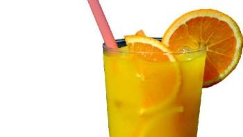 glass of Florida orange juice