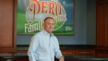 Peter Pero IV of Pero Family Farms in Delray Beach, FL.