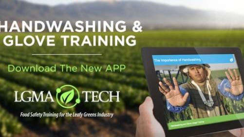 LGMA Launches Hand Washing App