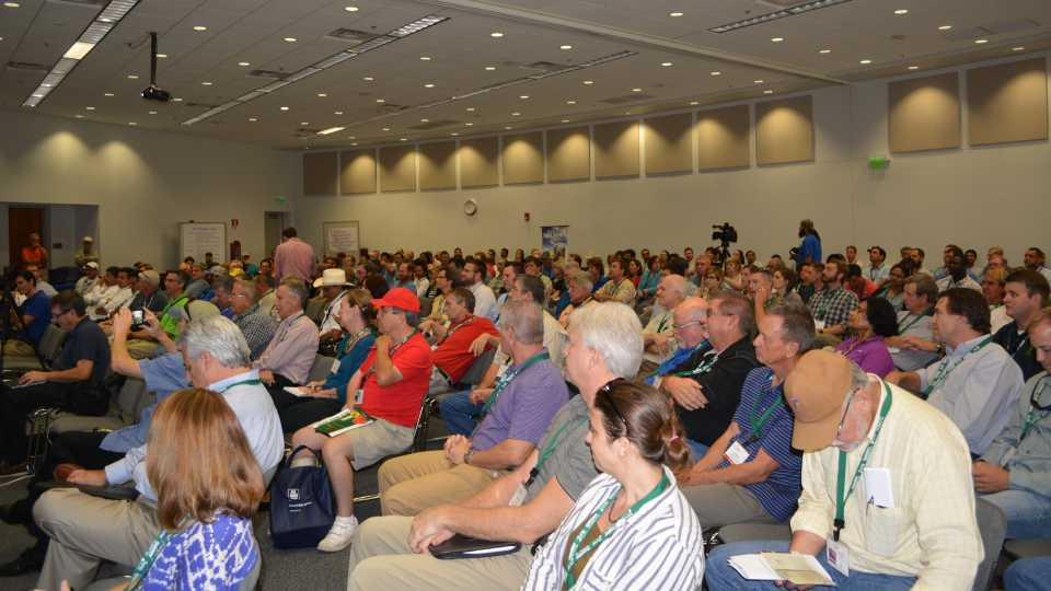 Big crowd at the 2015 Florida Ag Expo welcome