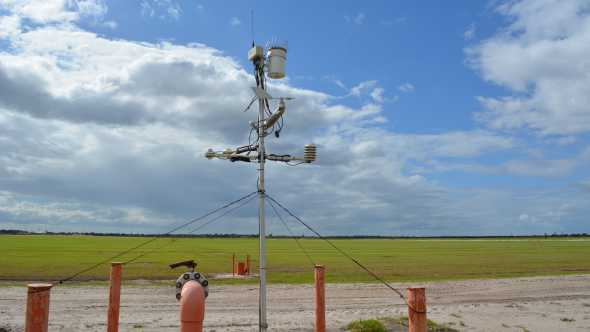 McCrometer CONNECT station at Bethel Farms in Arcadia, FL