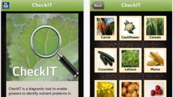 Yara's CheckIT app screenshot