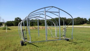 Researchers To Study The Benefits Of Movable High Tunnels