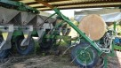 Fertilizer bander in a Florida potato field