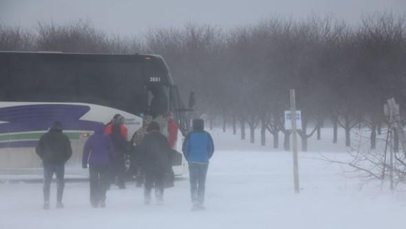 IFTA grand rapids tour bus