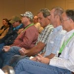 Growers participate in a real-time industry survey session at the 2016 Florida Citrus Show