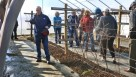 Tourgoers of the NARBA conference got a chance to see some high tunnel research at Virgina State University's research station in in Petersburg, VA. (Photo credit: NARBA)