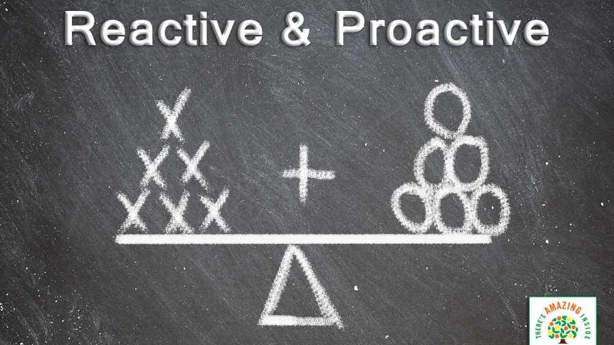 reactive vs. proactive illustration from Florida Department of Citrus