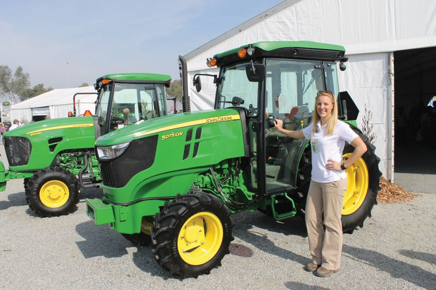 John Deere 100 Series >> New Narrow Tractors Are Designed To Twist And Turn Through ...