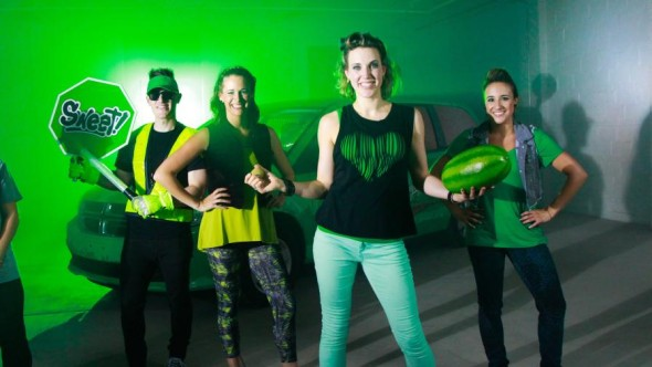 Funded by the National Watermelon Promotion Board, the video was produced in support of the rock and roll nutrition show, Jump With Jill.