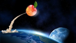 'Kiku' Apples Are Out Of This World — Literally