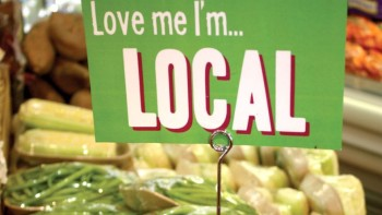 Love Me I'm Local Sign FEATURE