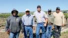 These employees and/or labor contractors at McManis Family Vineyards represent nearly 70 years of experience.  (Photo credit: David Eddy)