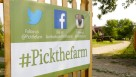 Pick at Garden Patch Farms sign