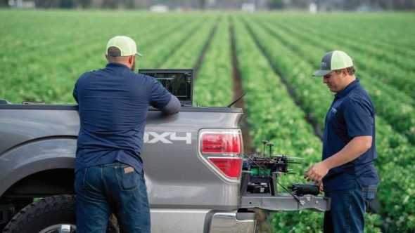 Growers boot up drone technology on the farm