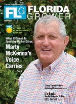 une 2016 Florida Grower magazine cover