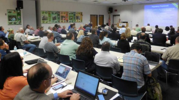 Food safety meeting for growers in Florida