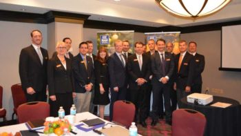 Participants of a Citrus Health Roundtable hosted by Yara International pose for a post-event photo.