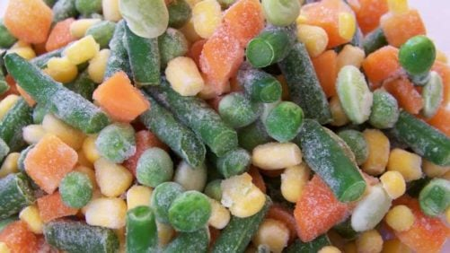 Frozen Mixed Vegetables, Green Peas Recalled Due To Possible Listeria Risk