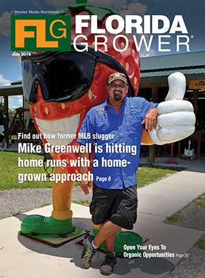July 2016 Florida Grower magazine cover