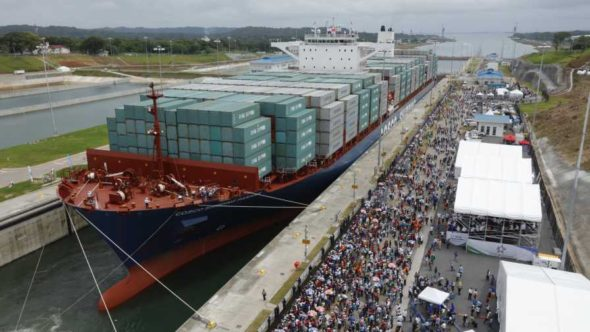 Panama Canal Expansion opening celebration
