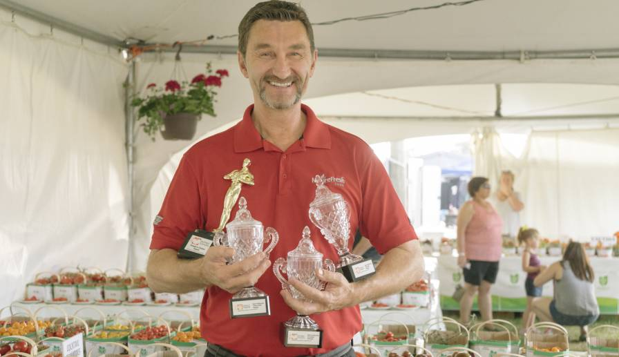 """We are very pleased to have won these top awards for our tomatoes and bell peppers"", said Peter Quiring, Owner & President of NatureFresh™ Farms"
