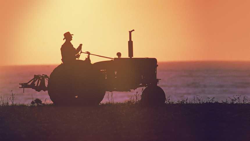 Basic tractor on the horizon