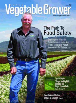 American Vegetable Grower August 2016 cover