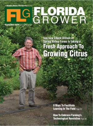 Sept. 2016 Florida Grower magazine cover