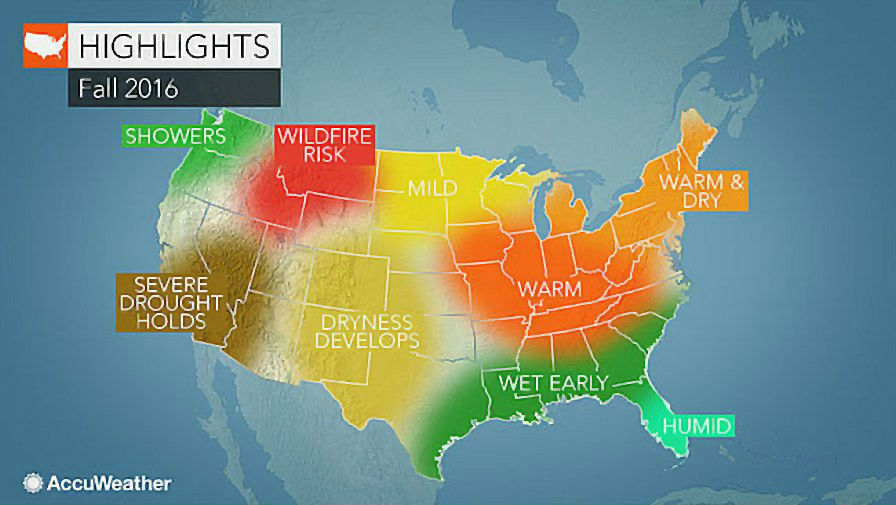 Fall 2016 Accuweather