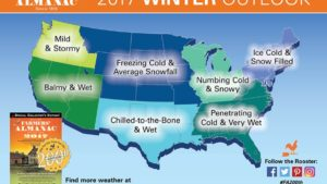 Rough Winter In Store For Much Of The U.S.