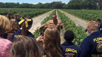 Gary Reeder of West Coast Tomato/McClure Family Farms in Florida