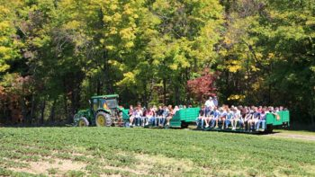 Tractor ride from Meister Mystery Trip at Pattersons FEATURE
