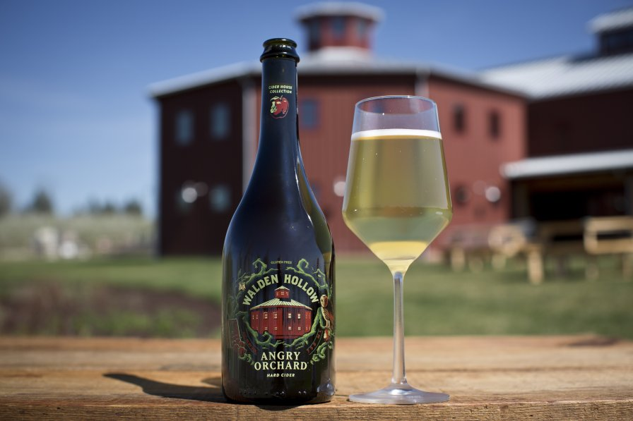 Walden Hollow hard cider (Photo credit: Boston Beer Co.)