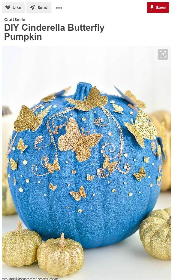 8 pumpkin decorating ideas seen on pinterest - Pumpkin Decorating Ideas